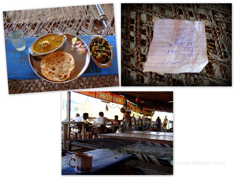Lunch at Highway Dhaba