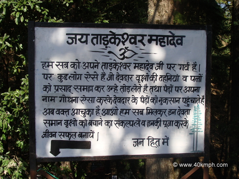 Save Trees Message