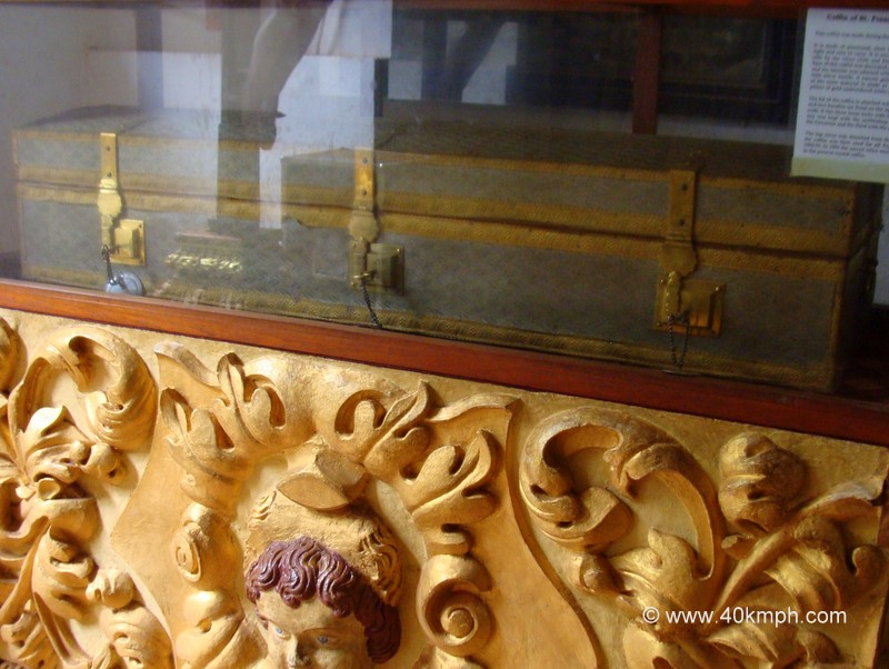 Coffin of St. Francis Xavier at Basilica of Bom Jesus, Old Goa