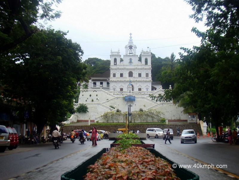 The Church of Our Lady of Immaculate Conception, Panaji, Goa