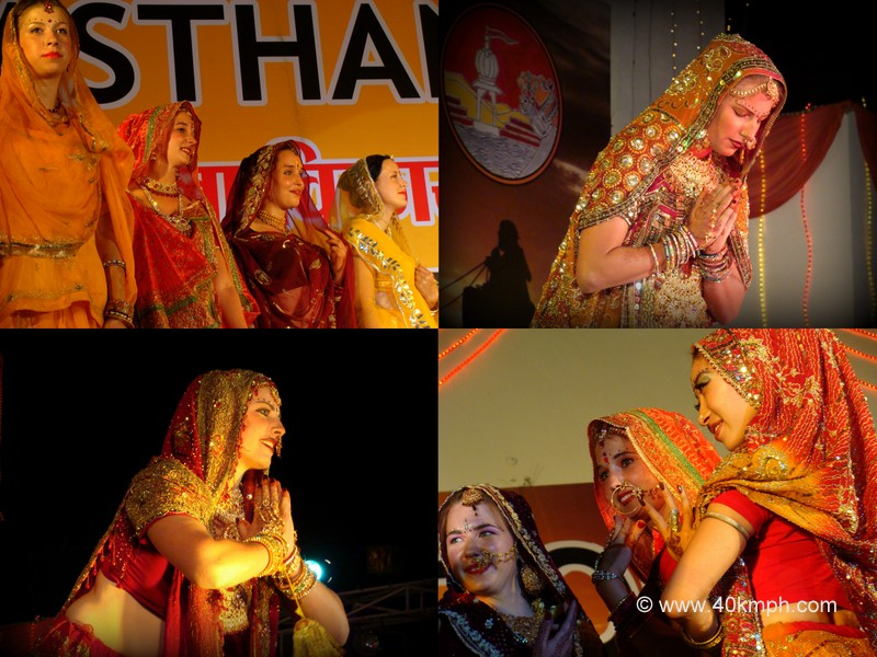 Indian Bride Competition for Visitor, Pushkar Fair 2011