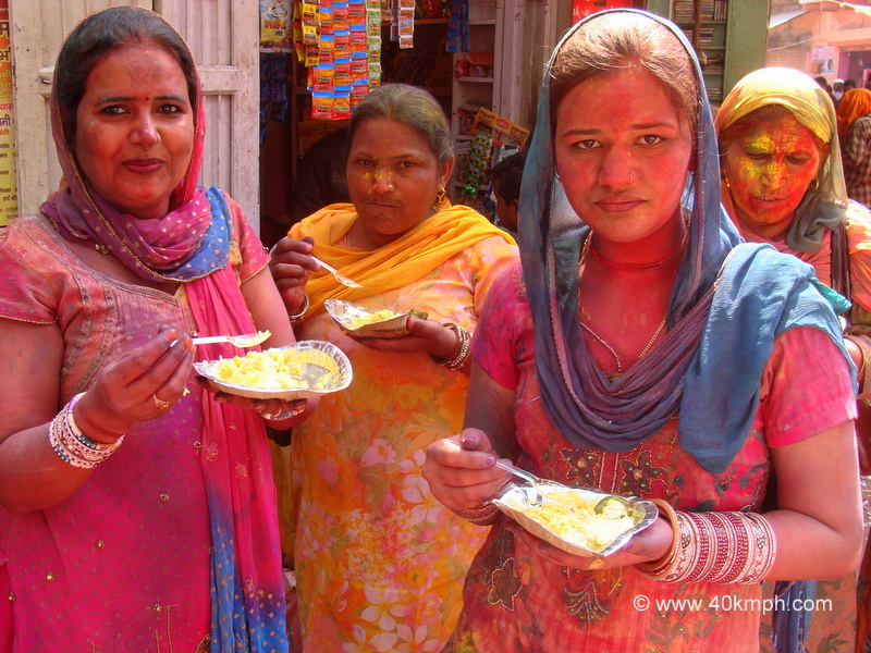 Celebrating Holi with Food and Friends
