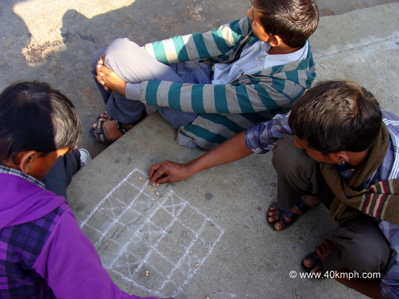 'Changapo' Traditional Game also Known as Thaayam