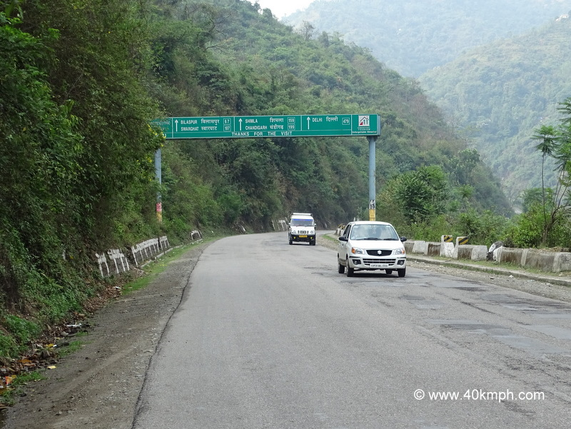 Distance from Mandi (Himachal Pradesh) to various Cities and Towns