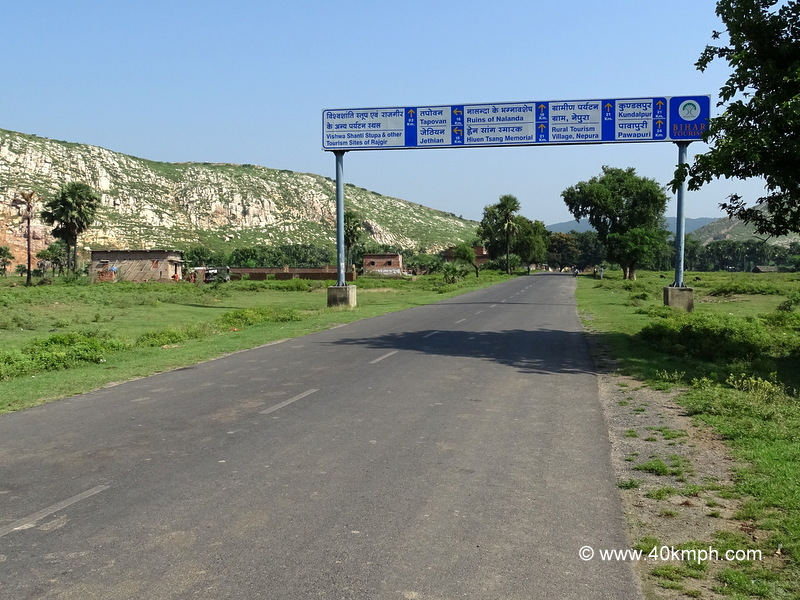 Distance of Tourist Places from Rajgir (Bihar)