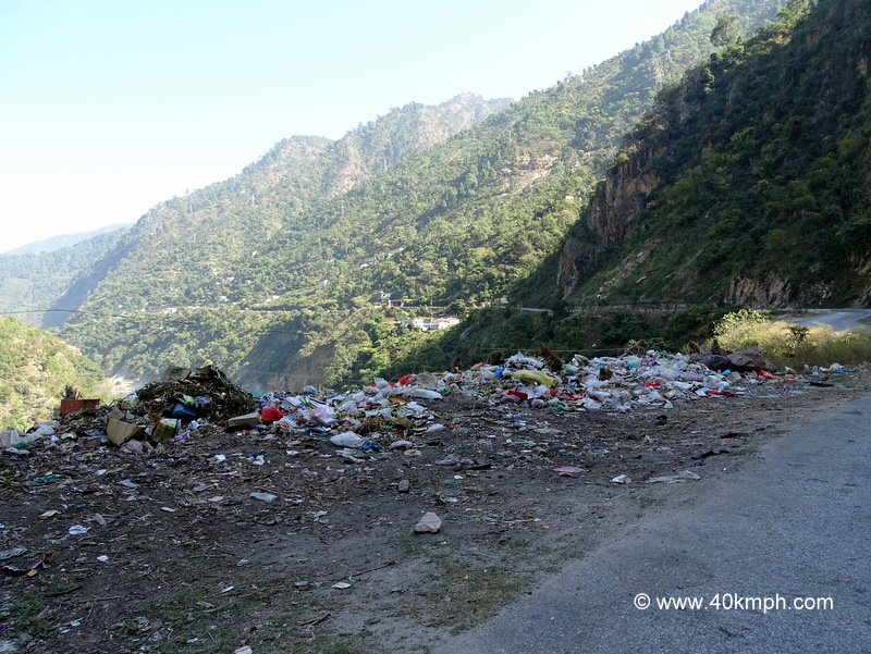 Plastic Waste in Himalayas