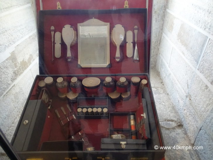 Makeup Box of the Queen at City Palace, Udaipur, Rajasthan